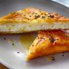 Γλυκιά τυρόπιτα με φύλλο